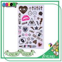 Best-Selling Highest Level Best Material Reasonable Price Kawaii Pet Print Adult Tattoo Sticker