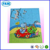 Puzzle games Art paper