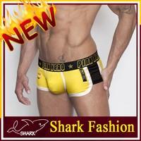Shark Fashion elastane underwear for man sport boxer undergarment shorts