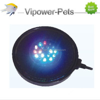 13.2CM*1.9CM Colorful underwater light Air stone with 19 LED beads Free shipping