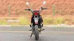 Motorcycle electric starter motor bike
