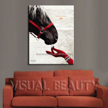 Modern Wall Art Decor Animal Horse Painting