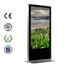 "Full HD 1080p all in one 50"" standing lcd advertising display"