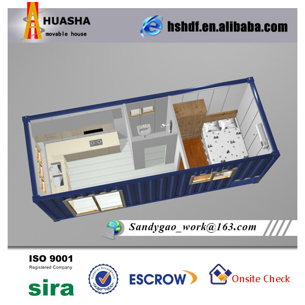 20ft Container House With Bathroom And Kitchen Buy