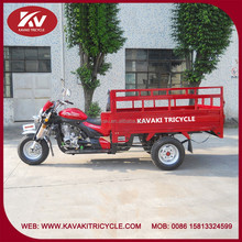 Guangzhou factory new design three wheel gas tricycle with air-cooled engine