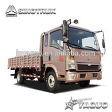 ZZ1047B2813D1Y45 howo 3 tons light mini truck