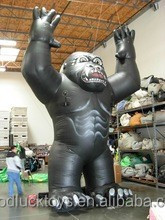 2015 Hot sale giant inflatable ape for advertising