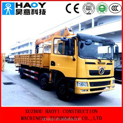 chinese truck crane manufacturer offer telescopic cranes in high quality