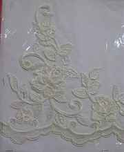 2015 plane rose decorative lace trim for bedskirt or dress