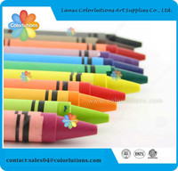 8c children wax crayons