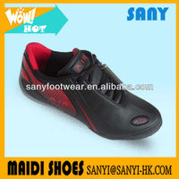 Wholesale Fashion Cheap Durable TPR Outsole black Casual Shoe From China Factory