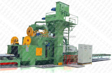 abrasive grits buffing dust-less CE Certification H Beam Shot Blasting Machine / Used Sandblasting equipment for sales