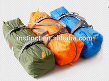 Plastic white goose down sleeping bag travel sleeping bags