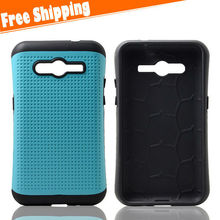 PC+TPU armor phone cover for Samsung Galaxy Core 2 G355H rubber case/high compact mobile housing for Galaxy Core 2 G355H case