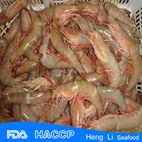HL002 grade a fresh frozen red shrimp and seafood