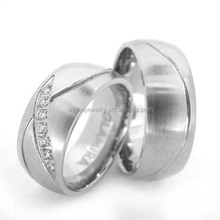 2015 hot sales surgical Stainless Steel fashion Wedding rings, stainless steel jewelry