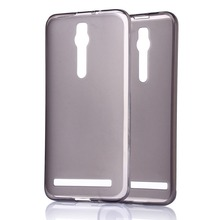 """10 pieces one set Case For ASUS Zenfone 2 Ultra-thin Soft TPU Case Cover for zenfone2 ZE551ML 5.5"""" Transparent Back Case"""