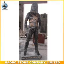 michael jackson gris oscuro del granito estatua