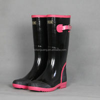 2014 New Style Fashion Printing Rubber Rain Boots