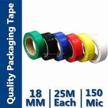 Waterproof PVC Insulating Electrical Tape (Soft polyvinyl Choride(SPVC) And Rubber Adhesive)