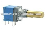 rotary potentiometer with switch