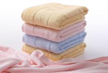 High quality eco friendly dobby bamboo towel set