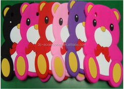 Teddy Bear Mobile Phone Silicone Case for ipad 5