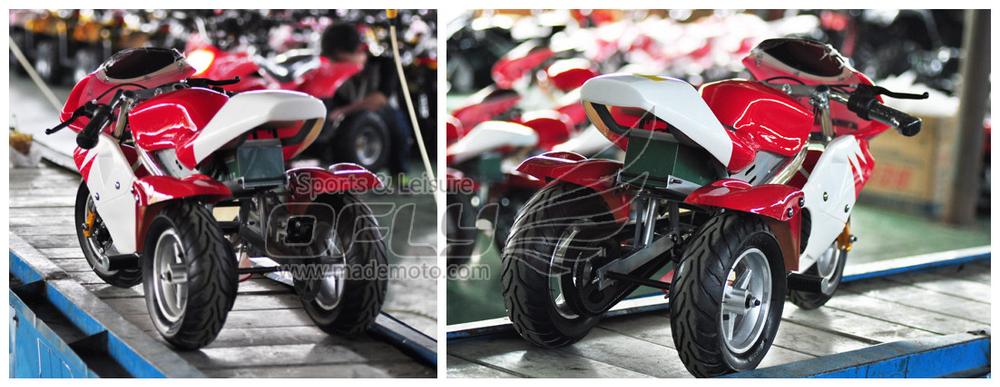 Christmas Selling Mini moto pocket bike