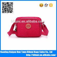 Red nylon women shoulder bag Latest style shoulder bags