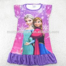ropa niños princesa congelados pijamas para niños