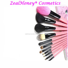 Zealhoney 11 pcs personalised makeup brush set electric cosmetic brush cosmetic bag same color with handle free sample