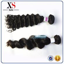 100% natural indian hair wholesale 20 french wave indian remy hair