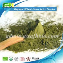 Orgánico jugo de pasto de trigo en polvo ( 100 gramps de muestras de libre de carga )