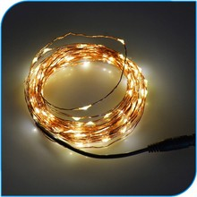 Christmas Decoration Promotion Adapt Powered Led Twinkle Light String