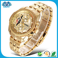 Alibaba Wholesale Mens 24K Gold Watch