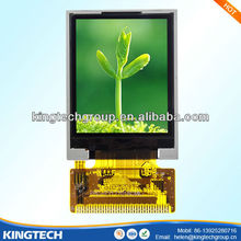 1.8 inch tft resistive touchscreen OEM and ODM