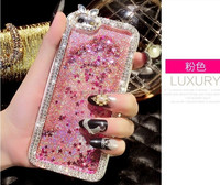 New Arrive Colorful Phone Case For iPhone 6/6 plus Brilliant Bling Shining Diamond Touch Screen Rhinestone Case for Iphone