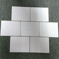 good quality matte white ceramic subway tile 75*150mm