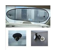 Wholesale Auto Rear Back Window Car Sunshade Black