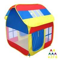 Pop up kids folding house tent outdoor kid play tent