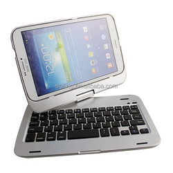 for sumsang tablet 8 inch aluminum keyboard cover t331 360 degree Rotating