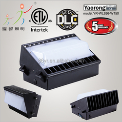 DLC ETL led wall pack IP65 full cut-off wall pack led fixture meanwell driver