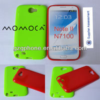 TPU mobile phone case for Samsung N7100 note 2
