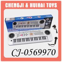 Cheap 49-keys electronic toy music instruments keyboard