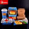 Wholesale food grade disposable sandwich packaging containers