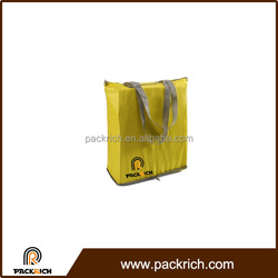 Wholesale fold up custom polyester hand bag