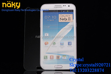 9H anti-scratch ultra clear tempered glass screen guards for Samsung galaxy note3