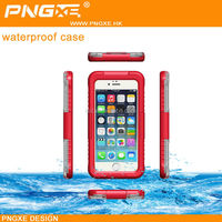PNGXE phone accessories hot selling shock-proof dustproof for diving swimming phone waterproof case compatible for iPhone6 Plus
