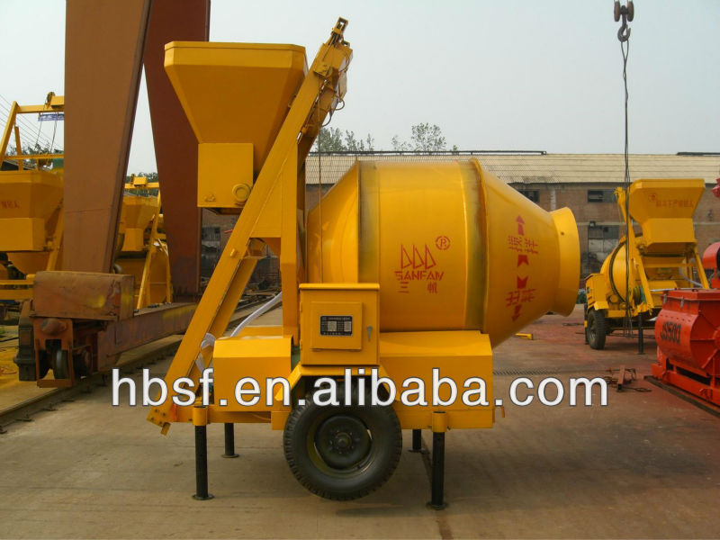 44 years manufacture JZM350 350L electric cement mixer and concrete mixer machine for sale
