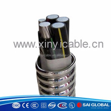 metalic screen interlocked armored high quality factory price 0.6/1 kv xlpe /pvc insulated power cable 0.5mm power cable 1.5mm p